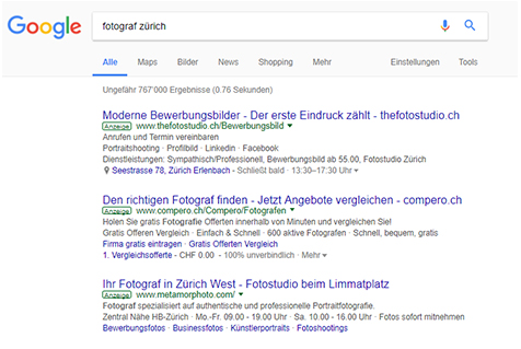 Google Adwords Kamapgnen