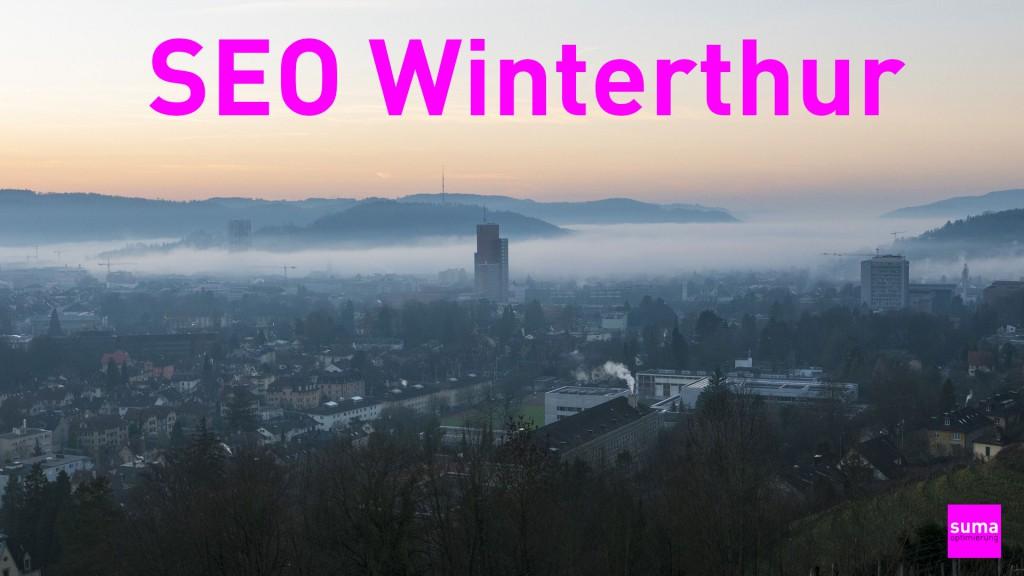 SEO Winterthur, Webseiten für Google optimiergen